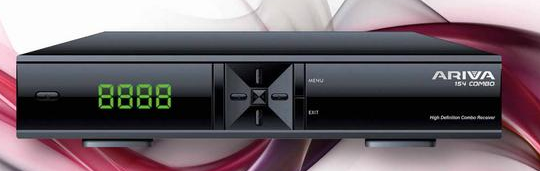 Ariva 154 combo  HD Freesat and Saorview Free to air box