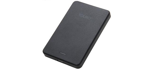 how to open touro hard drive box